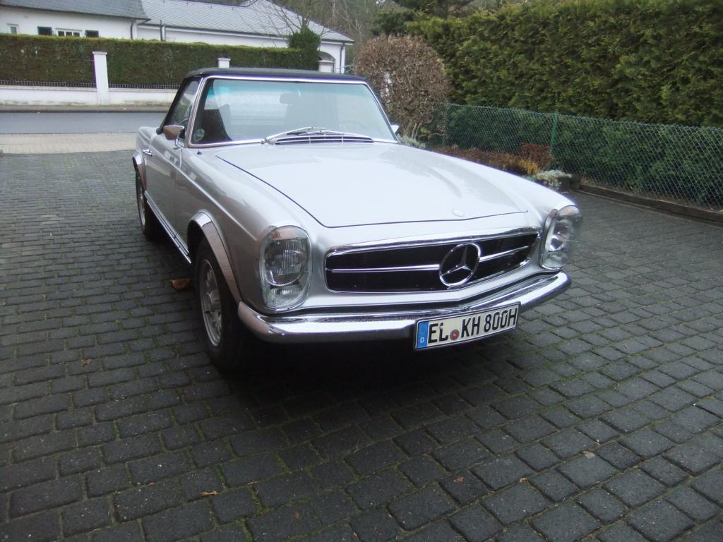 Oldtimer Mercedes Benz Pagode